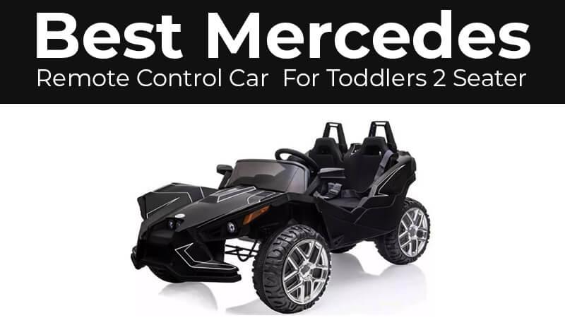 2 seater toddler mercedes