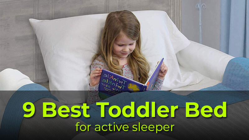 Toddler bed for sleep