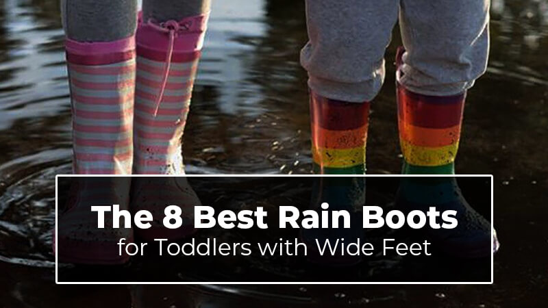 Rain boots for toddler