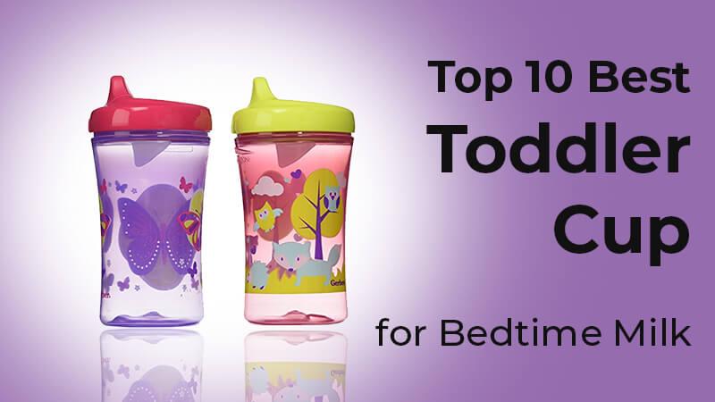 toddler bedtime milk cup