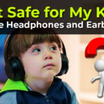 kids headphone and earbuds